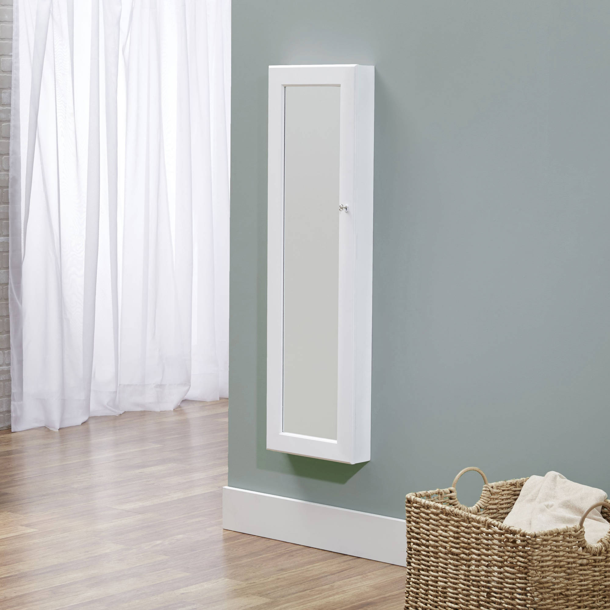 InnerSpace Over-the-Door/Wall-Hang Deluxe Jewelry Armoire, Multiple Colors