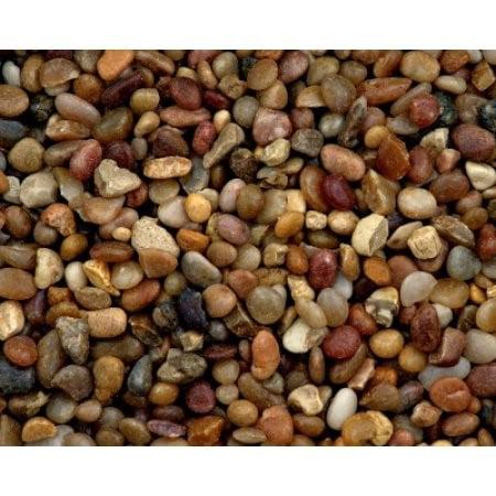 Estes Nature Blend Shallow Creek Pebbles Aquarium Gravel, 25 Lb