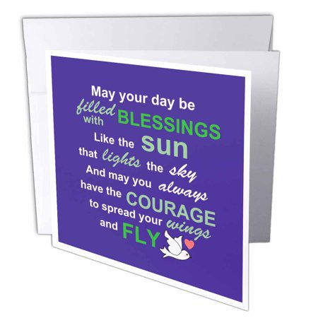 3drose irish blessing rhyme for courage bravery and independence 3drose irish blessing rhyme for courage bravery and independence rhyming poem typography purple m4hsunfo