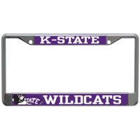 Kansas State Wildcats Small Over Large Mega License Plate Frame