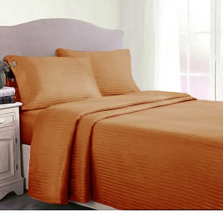 Peach Couture Couture Home 400 Thread Count Sheet Set