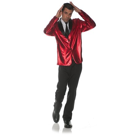 Red Doo Wop Mens Adult 50S Singer Costume Accessory Jacket