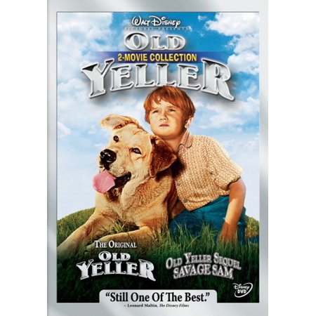 Old Yeller: 2 Movie Collection (DVD) - Good Halloween Movies For 12 Year Old