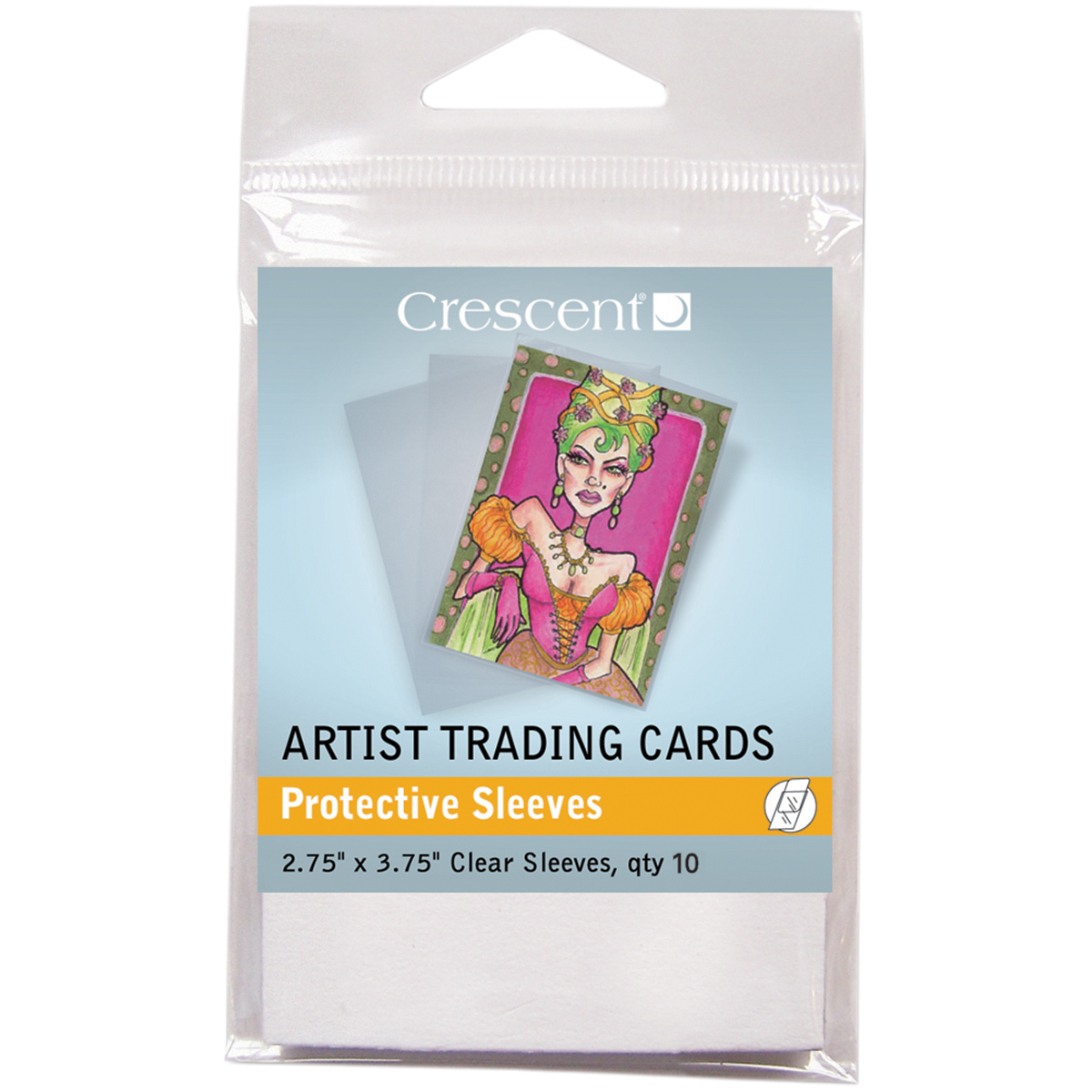 "Crescent Artist Trading Cards 2.75""X3.75"" 10/Pkg-Protective Sleeves"