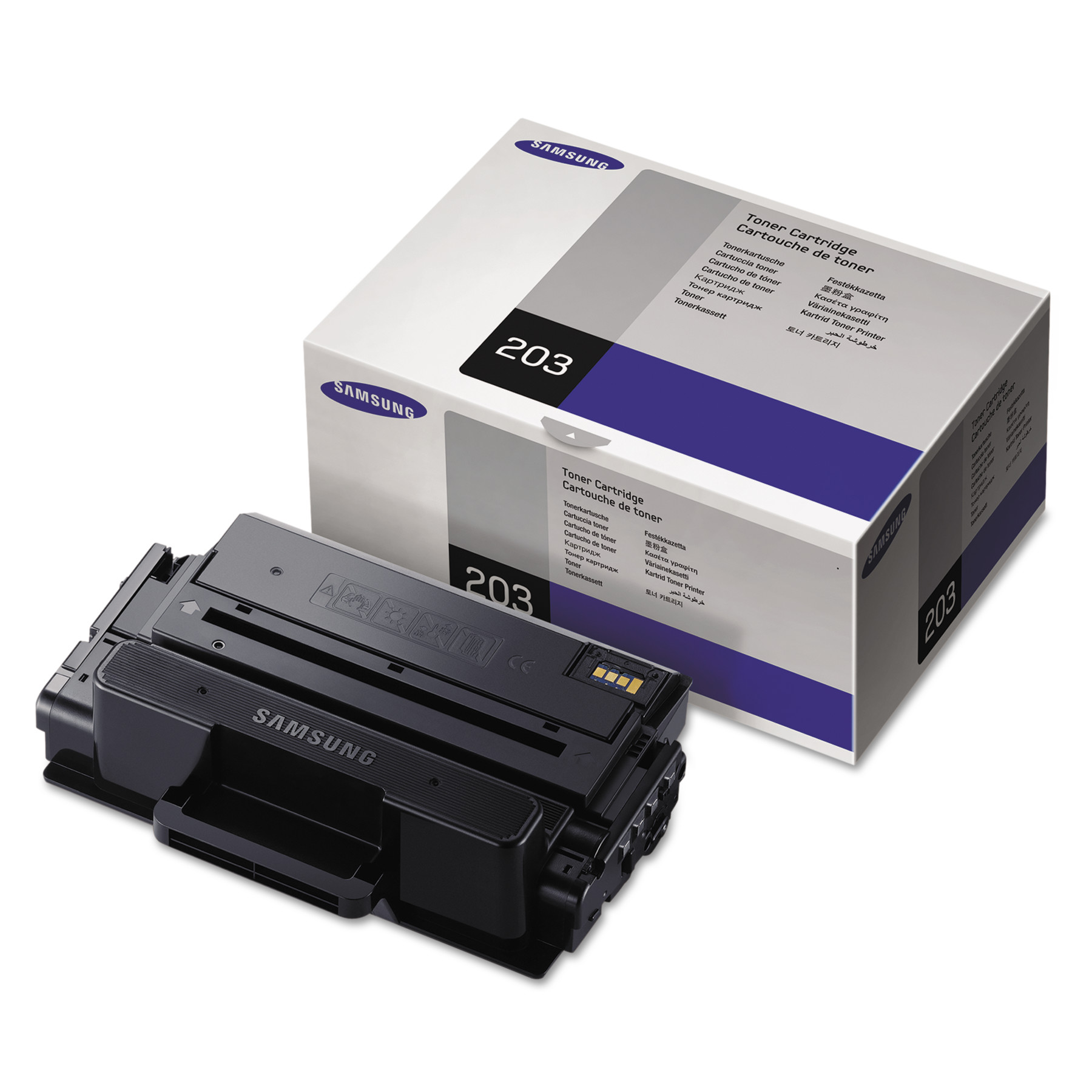 Samsung MLT-D203S (SU911A) Toner, 3000 Page-Yield, Black