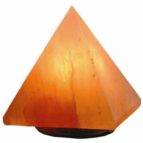 Oriental Furniture Pyramid 7'' Salt Lamp