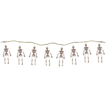 String of Skeletons (Scary Halloween Clown Decorations)