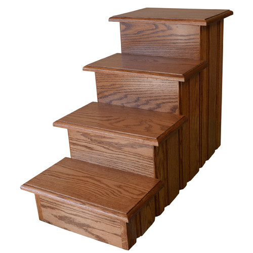 Premier Pet Steps Raised Panel 4 Step Pet Stair