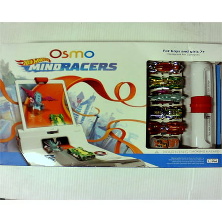 Osmo - Hot Wheels MindRacers Game Kit for iPad Ages 7+ (Osmo iPad Base Included)
