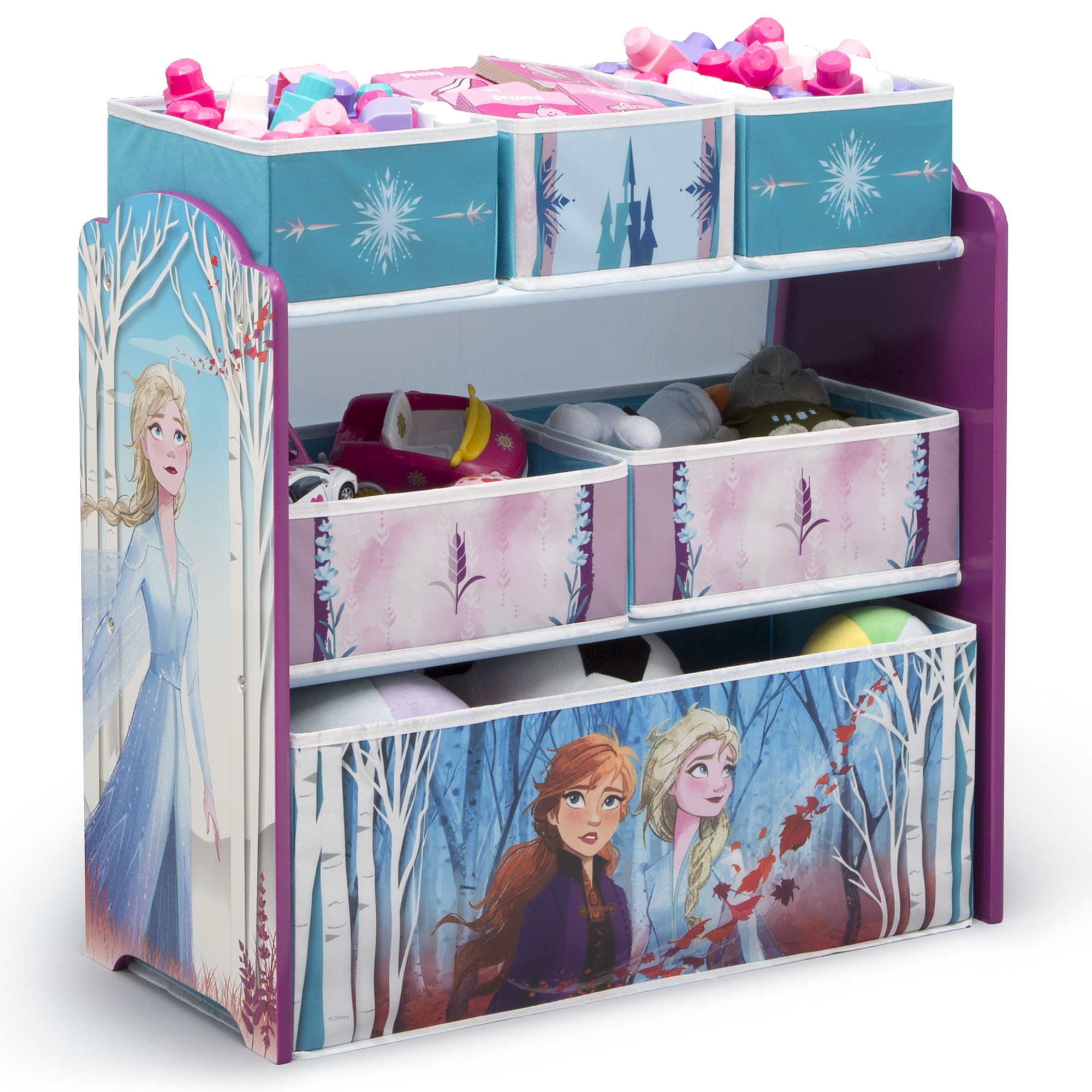 Disney Frozen Girl Children Bedroom Pop Up Foldable Storage Basket Bin Bag Toy