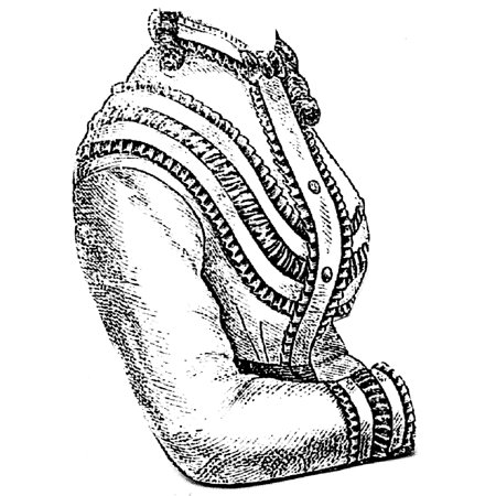 Renaissance Blouse Pattern (Sewing Pattern: 1869 Blouse Waist)