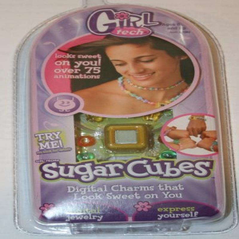 Girl Tech Sugar Cubes Digital Charms Character