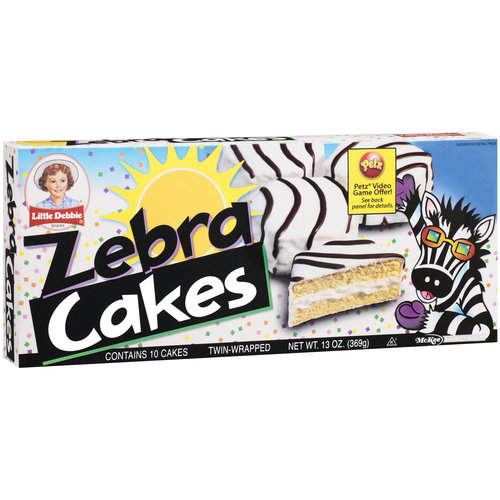 Little Debbie Snacks Zebra Cakes, 5ct