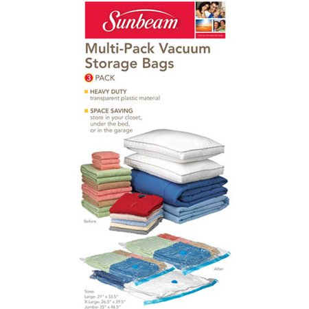 Sunbeam 3-Piece Vacuum Bag, Set