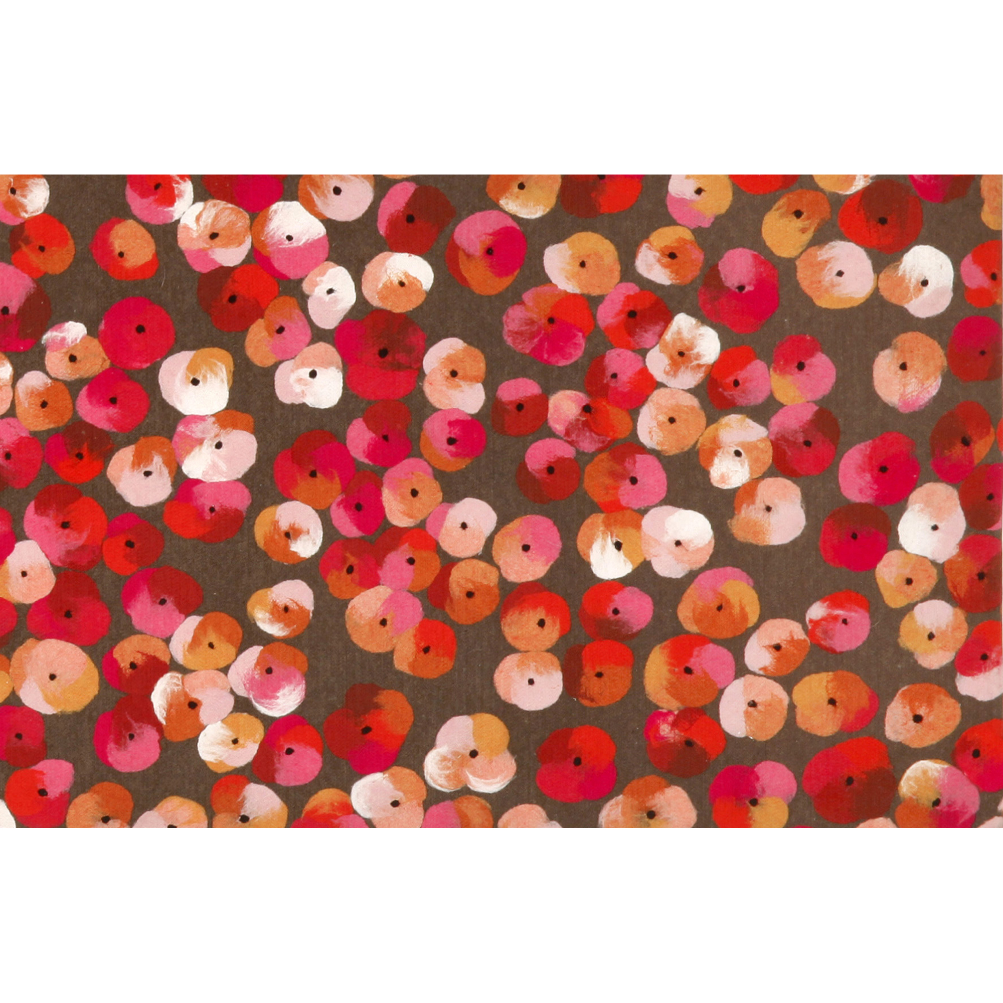 """Liora Manne Visions III Pansy Indoor/Outdoor Mat Blue 20""""X29.5"""""""