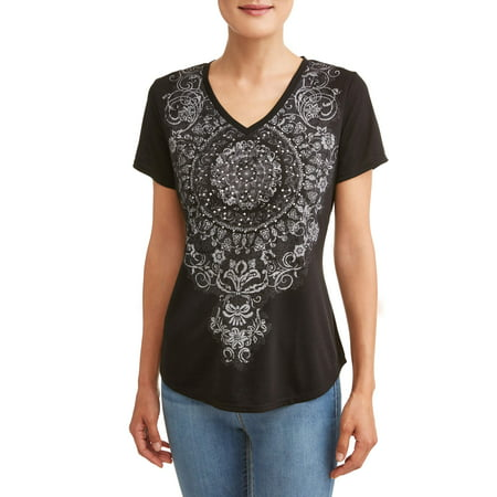 - Women's Short Sleeve Sublimation T-Shirt