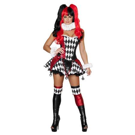 3 Piece Court Jester Cutie Costume for $<!---->