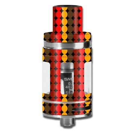 Skins Decals For Smok Micro Tfv8 Baby Beast Vape Mod / Circles Retro Pattern