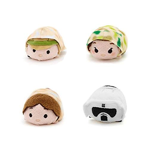 Disney Star Wars Luke Skywalker And Han Solo Plush Tsum Tsum Set of 2