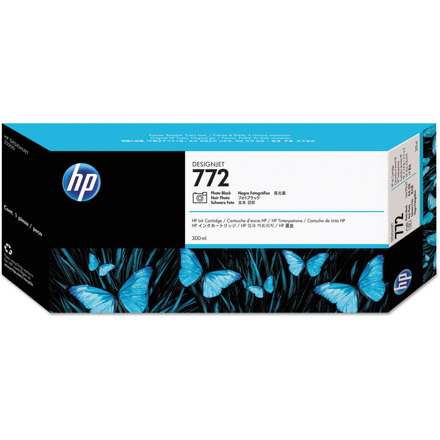 HP CN633A (HP 772) Photo Black Ink Cartridge