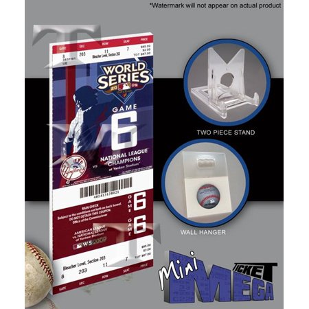 2009 World Series Mini Mega Ticket - Yankees Game 2009 Yankees World Series