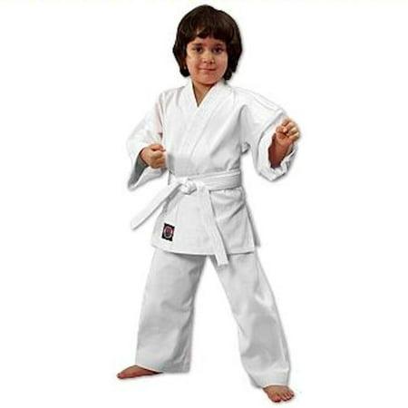 ProForce 6 oz. Lightweight Student Uniform - White (Elastic - Lightweight Student Uniform