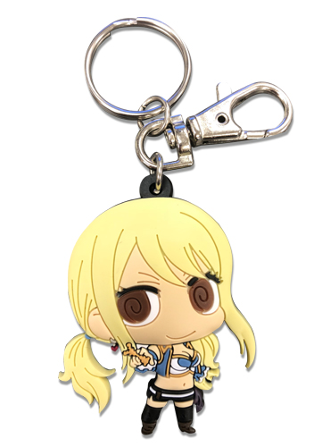 *NEW* Fairy Tail Chibi Erza Sword Pose Key Chain