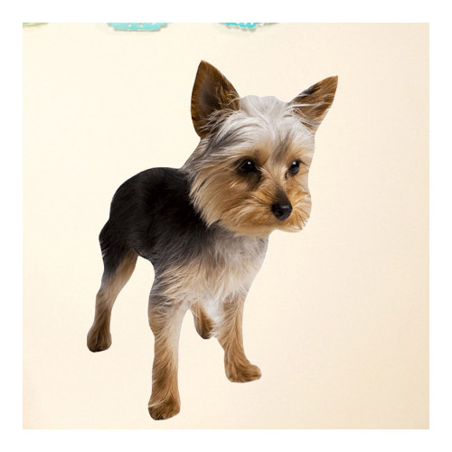 Wallhogs Dog V Cutout Wall Decal