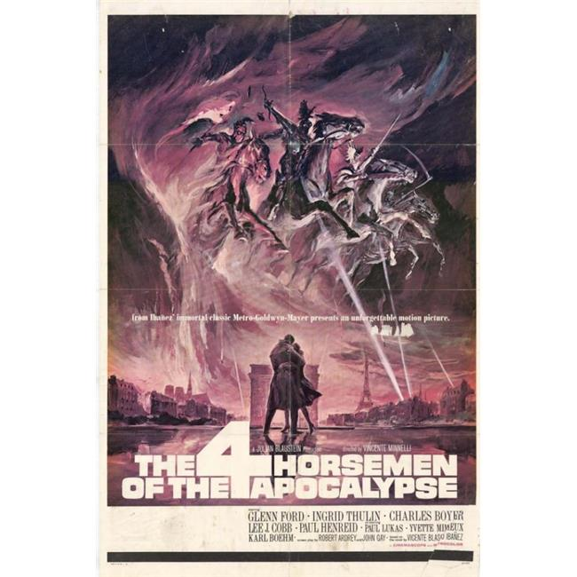 Posterazzi MOVIH6197 The Four Horsemen of the Apocalypse Movie Poster - 27 x 40 in. - image 1 de 1