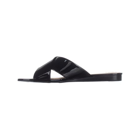 Guess Lined Sandals - Guess Womens Flashee3 Open Toe Casual Slide Sandals
