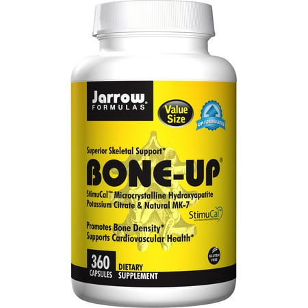 Bone Density Supplements (Jarrow Formulas Bone-Up, Promotes Bone Density, 360 Caps )