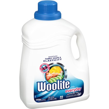 Woolite Gentle Cycle Liquid Laundry Detergent For He And Regular Machines  Sparkling Falls Scent  100 Ounce