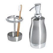 Better Homes & Gardens Two-Toned Metal Bath Accessory Set