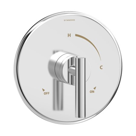 Dia Shower Valve Trim in Polished Chrome (Valve Not Included)