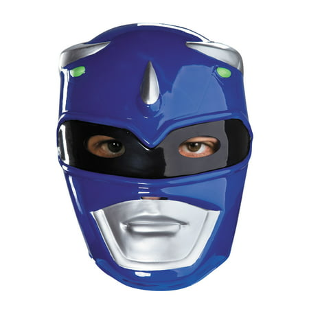Blue Power Ranger Vacuform Mask