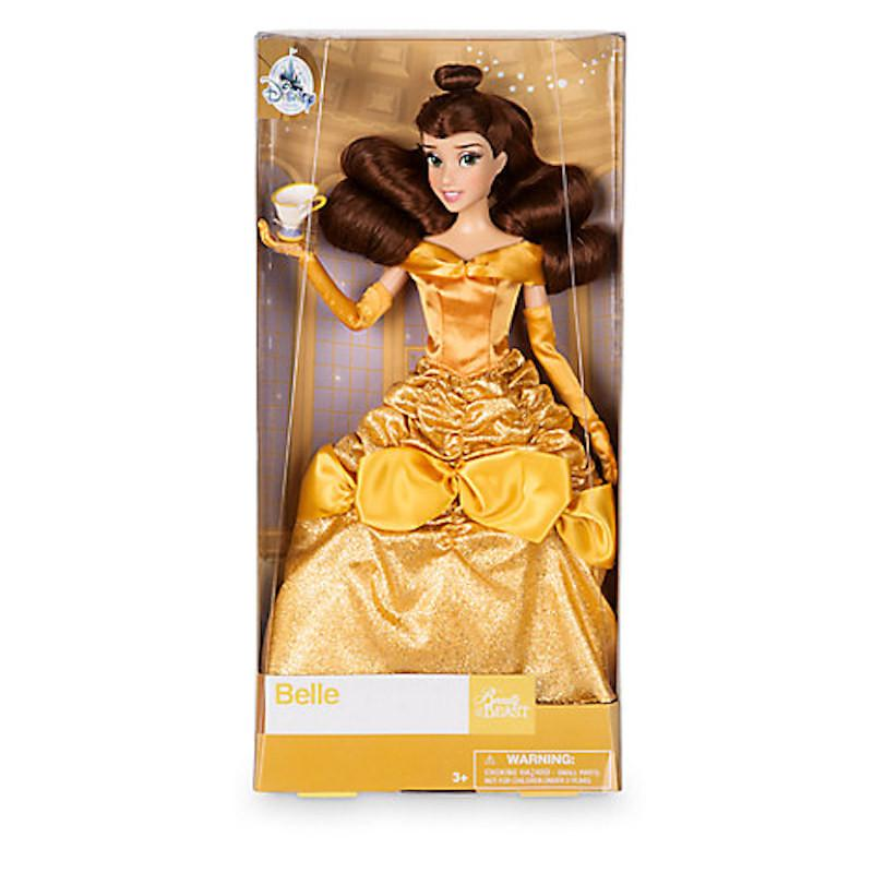 Disney Store Princess Belle with Chip Classic Doll New with Box