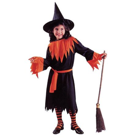 Wendy The Witch Child Large (Wendy's Restaurant Halloween Costume)