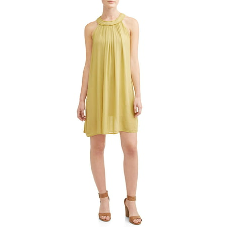 Women's Easy Round Neck Sleeveless Dress
