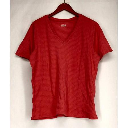 Edition Salmon - Basic Editions Woman Plus Size XL V-Neckline Salmon Pink Womens