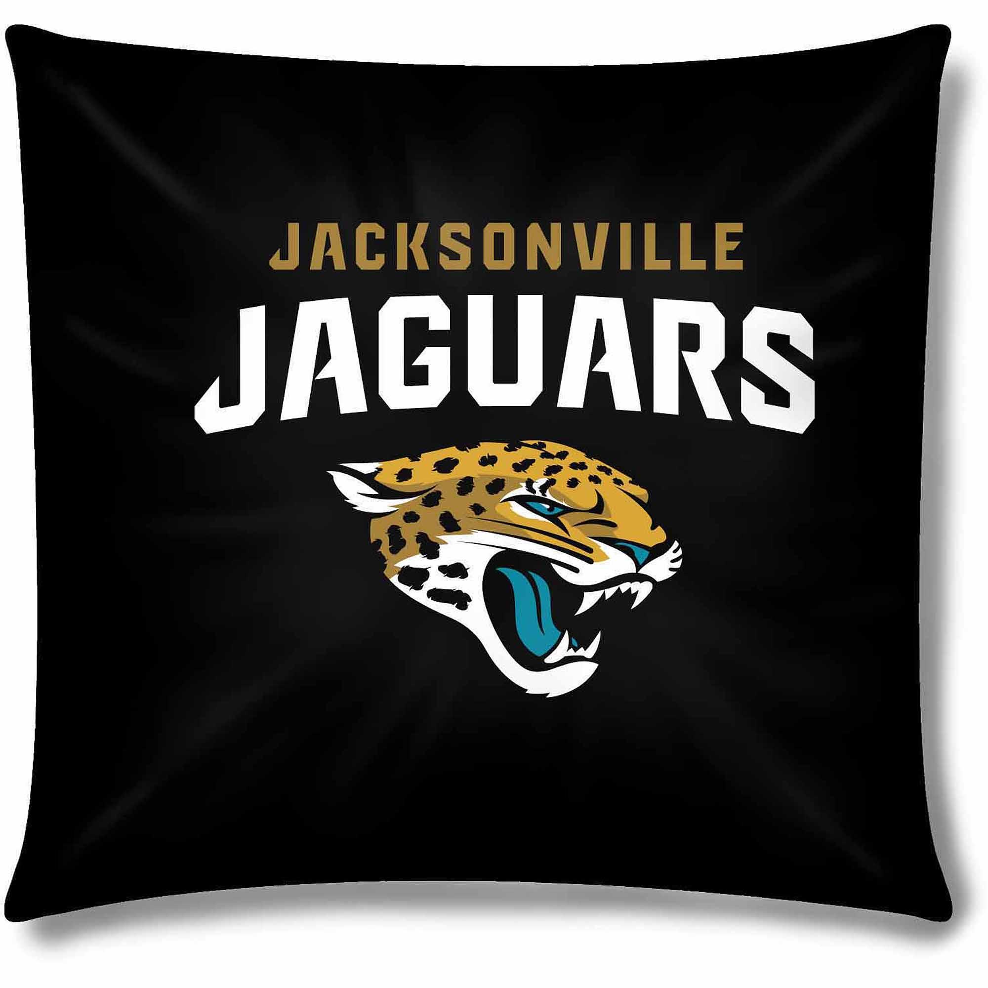 """NFL Jacksonville Jaguars Official 15"""" Toss Pillow"""