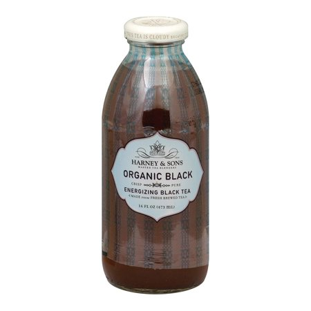 Harney And Sons Harney And Sons Teas Black Bottled Tea - Iced Teas - Pack of 12 - 16 Oz.