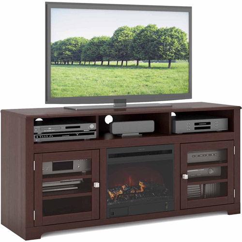 """CorLiving West Lake Fireplace Bench for TVs up to 68"""" by CorLiving"""
