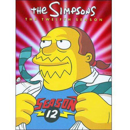 The Simpsons  The Twelfth Season  Full Frame