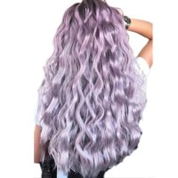"""S-noilite Long Curly Synthetic Wig with Bangs Short Hair Wigs Heat Resistant Full Wig Full Head for Women Blonde highlight,20""""-248g"""