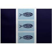 Simply Daisy 4 X 6 Fish Chips Animal Print Rug