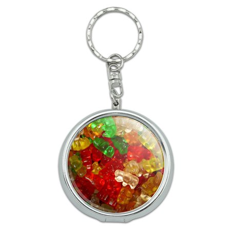 Gummy Gummi Bears Portable Ashtray Keychain