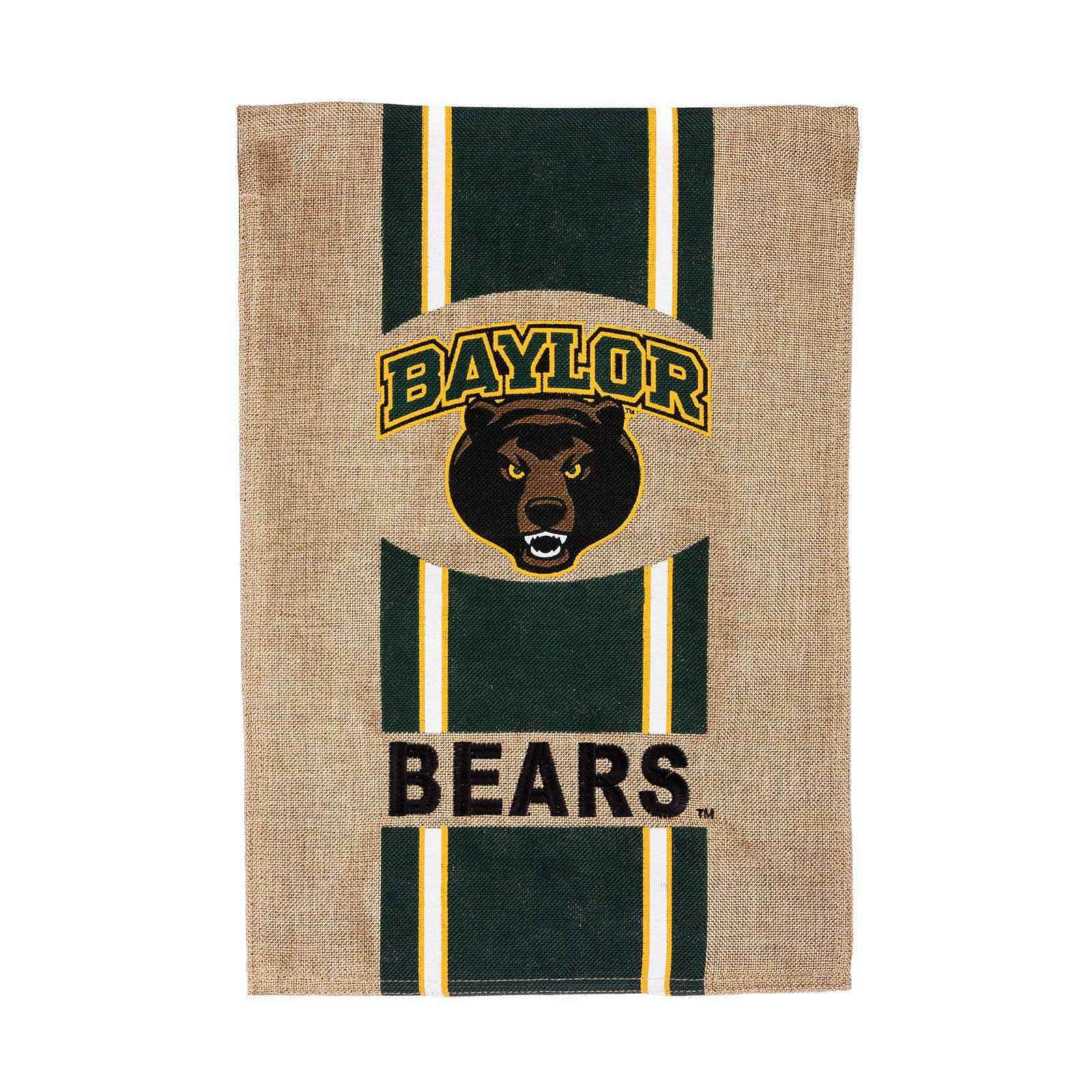 Team Sports America NCAA Burlap Flag