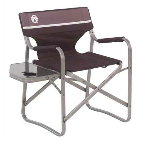 Coleman Deck Chair with Folding Table ()