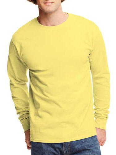 Big Men's Tagless Long Sleeve T-shirt