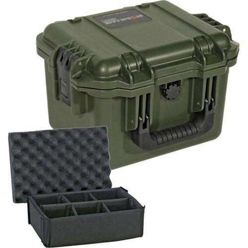 Pelican iM2075 Storm Case with Padded Dividers (OD Green)